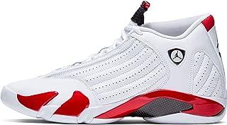 Nike Air Jordan XIV 14 Retro Candy Cane RIP Hamilton 487471-100 US Size 10.5 White