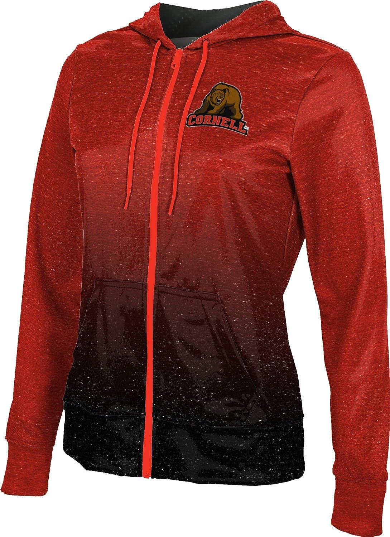 ProSphere Cornell University Girls' Zipper Hoodie, School Spirit Sweatshirt (Ombre)
