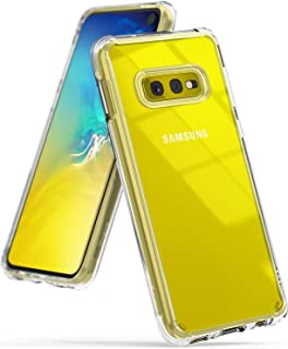 Ringke Fusion Diseñado para Funda Galaxy S10e Crystal Transparente PC [Tecnología Matriz Puntos Anti-Adherente] Cubierta Protectora TPU Protección contra Caídas Liviana para Galaxy S10e 2019 - Claro