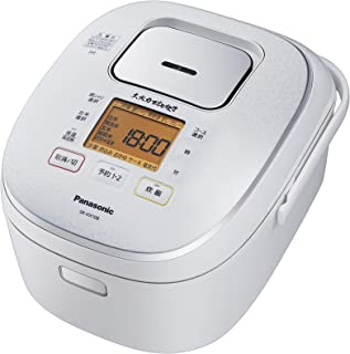 パナソニック 炊飯器 5.5合 IH式 大火力おどり炊き スノーホワイト SR-HX108-W