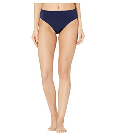 Robin Piccone Ava High-Waist Bottoms (Navy) Women