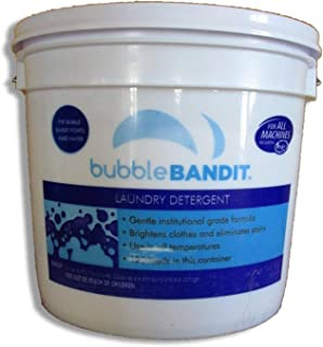 Bubble Bandit Laundry Detergent Powder with Natural Phosphates. Fresh Clean Scent. 125 Loads in