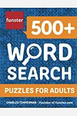 Funster 500+ Word Search Puzzles for Adults: Word Search Book for Adults with a Huge Supply of Puzzles Paperback