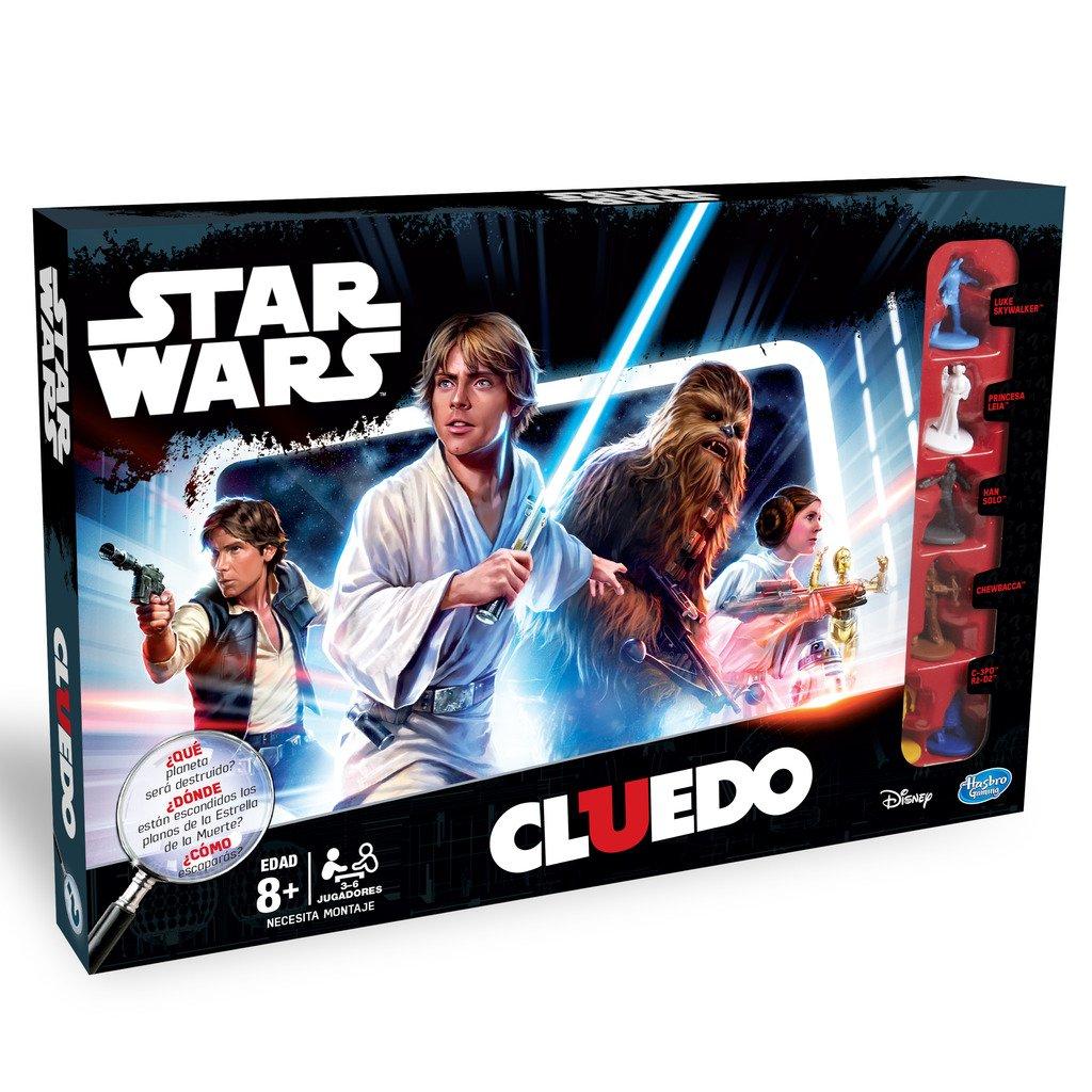 Star Wars - Cluedo, Juego de Mesa (Hasbro B7688105): Amazon.es: Juguetes y juegos