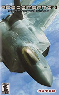 Ace Combat 04 Shattered Skies (Instruction Manual) NO GAME, Pamphlet Only