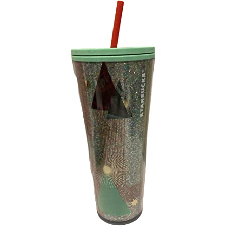 Starbucks Grande Reciclada Vidrio Vaso Frío Taza 473ml