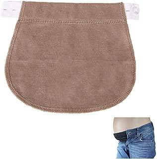 Migaven R/églable /Élastique V/êtements Pantalons Extenseurs Taille Belly Band pour Femmes Grossesse Enceinte Maternit/é Style A 3 PCS Ceinture Grossesse