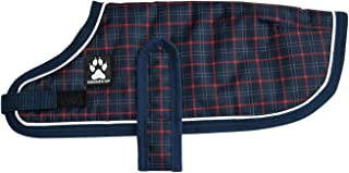 SHEDROW K9 Winter Dog Coat Glacier Warm Dog Coat w/Adjustable Velcro Straps – Quality Warm Dog Jacket for Outdoors, Comfy Dog Snow Jacket, Functional Dog Fashion, Pet Winter Coat