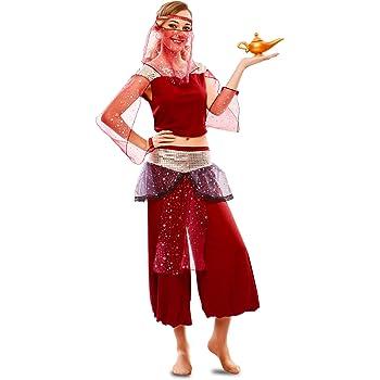 EUROCARNAVALES Disfraz de Bailarina Árabe para Mujer: Amazon.es ...