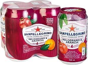 Sanpellegrino Melograno e Arancia ISD (Pomegranate & Orange), 24 x 330 ml, Melograno E Arancia (Pomegranate & Orange)