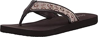 Guess Women's Toosoon, Flat Sandal - Beige