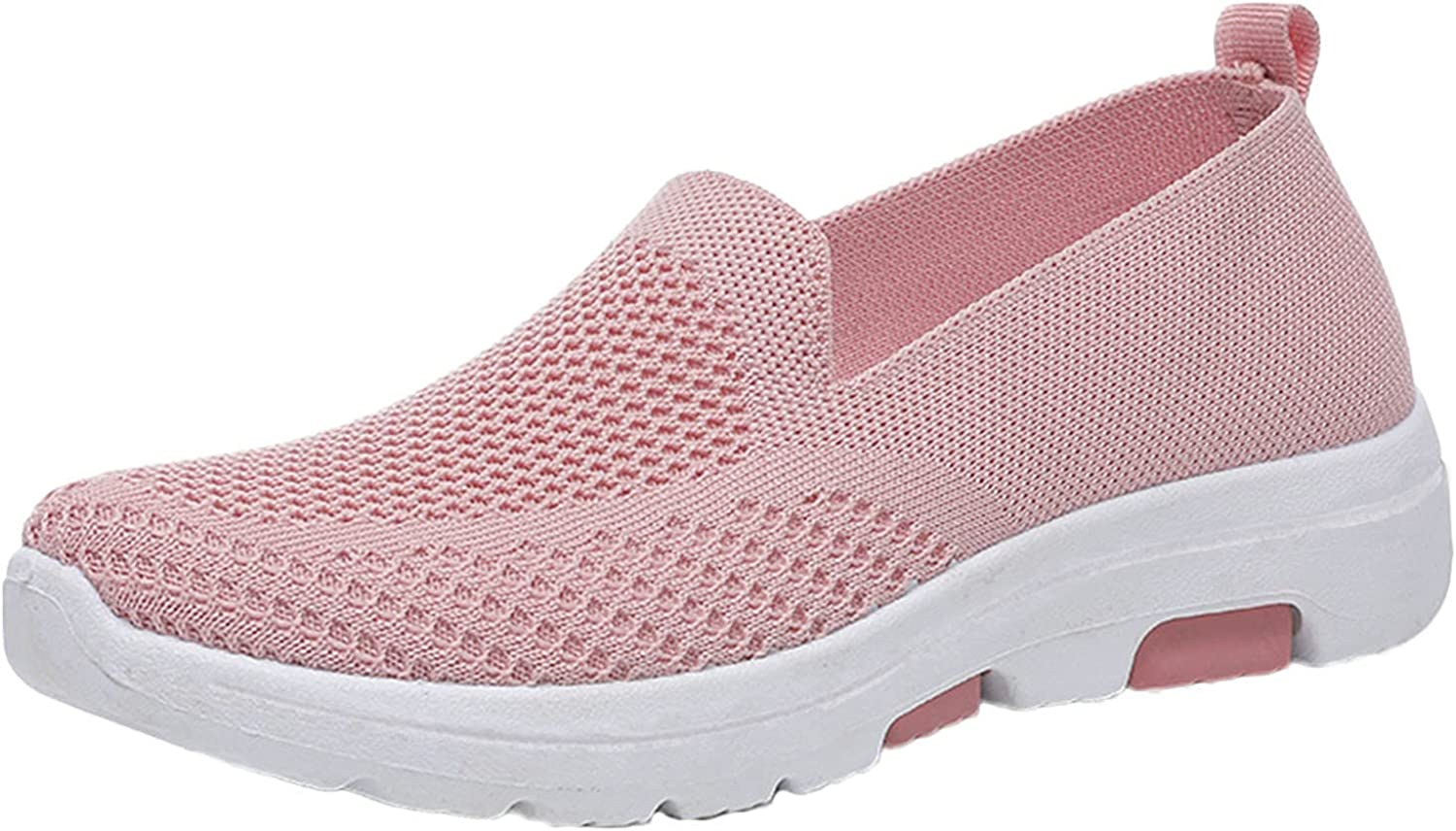 Women's Loafers & Slip-Ons Womens Canvas Shoes Play Sneakers Slip on Fashion Shoes Low Tops Casual Tennis Shoes Multicoloured