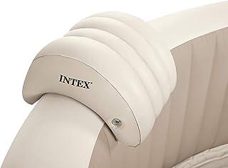 INTEX - Appui-t?te PureSpa gonflable 39 x 30 x 23 cm Beige