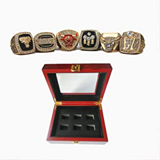 1991,1992,1993,1996,1997,1998 basketball chica'go championship replica bulls champ rings set with box gifts for youth kids mens boys 23 MVP j'or'da'n
