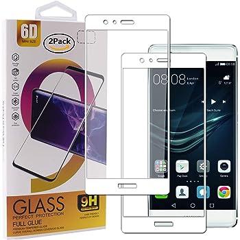 BisLinks® 2 x para Huawei P9 Lite Templado Vaso Pantalla 9H ...