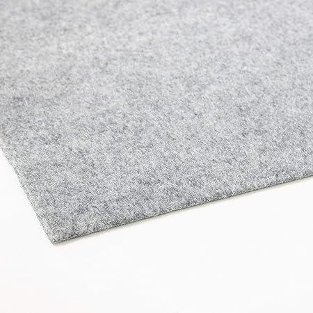 Emissions- /& geruchsfrei Floori/® Nadelfilz Teppich wasserabweisend 200x200 cm, anthrazit Viele Farben /& Gr/ö/ßen GUT-Siegel