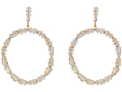 8 Other Reasons New Moon Drop Hoops (Gold) Earring