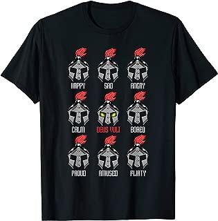 Knight Armor Crusader Templar Crusade Deus Vult T-Shirt