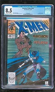CGC 8.5 UNCANNY X-MEN #256 MARVEL COMICS 12/1989 1ST NEW PSYLOCKE MANDARIN