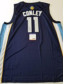 Mike Conley Signed Jersey - PSA/DNA Certified - Autographed NBA Jerseys