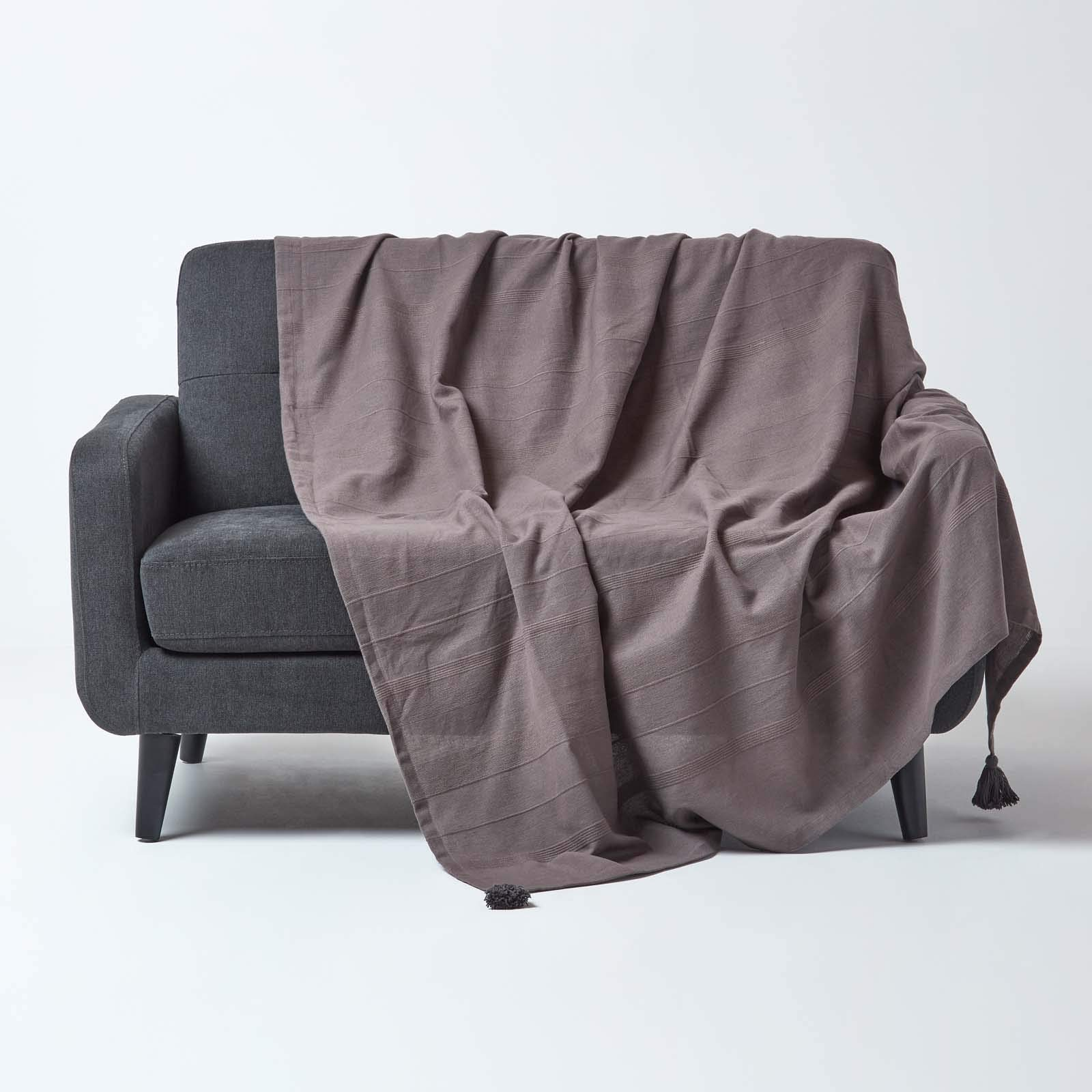 Homescapes Rajput Colcha para cama o sofá, 100% algodón, color ...