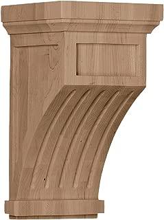 Ekena Millwork COR03X06X10HAMA-CASE-4 Corbel Factory Primed