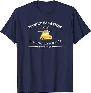 Road Trip Family Vacation 2019 Tshirt | Matching Family Tee