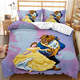 Amazon Com Beauty And The Beast Bedding