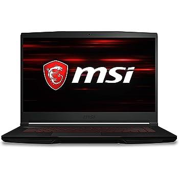 "MSI GF63 THIN 9RCX-818 15.6"" Gaming Laptop, Thin Bezel, Intel Core i7-9750H, NVIDIA GeForce GTX 1050 Ti, 8GB, 256GB NVMe SSD"