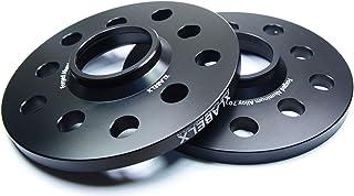 フォルクスワーゲン / アウディ 超々ジュラルミン 【7075-T6】 【10mm】 ホイールスペーサー ブラックアルマイト 2枚セット