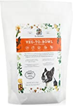 Dr. Harvey's Veg-to-Bowl Fine Ground Dog Food, Human Grade Dehydrated Base Mix for Dogs, Grain Free Holistic Mix for Small Dogs or Picky Eaters