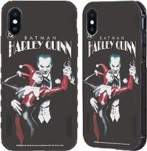 Head Case Designs - Carcasa para Apple iPhone, diseño de Joker, color negro, compatible con Compatibilité: Apple iPhone X / iPhone XS: 64GB, 256GB & 512GB