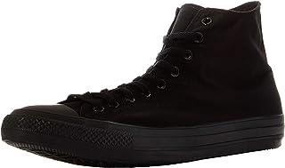 Converse Unisex Chuck Taylor Hi Basketball Shoe (7 B(M) US Women / 5 D(M) US Men, Black Monochrome)