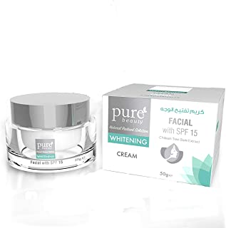 pure beauty Whitening Facial Cream with SPF15-50g
