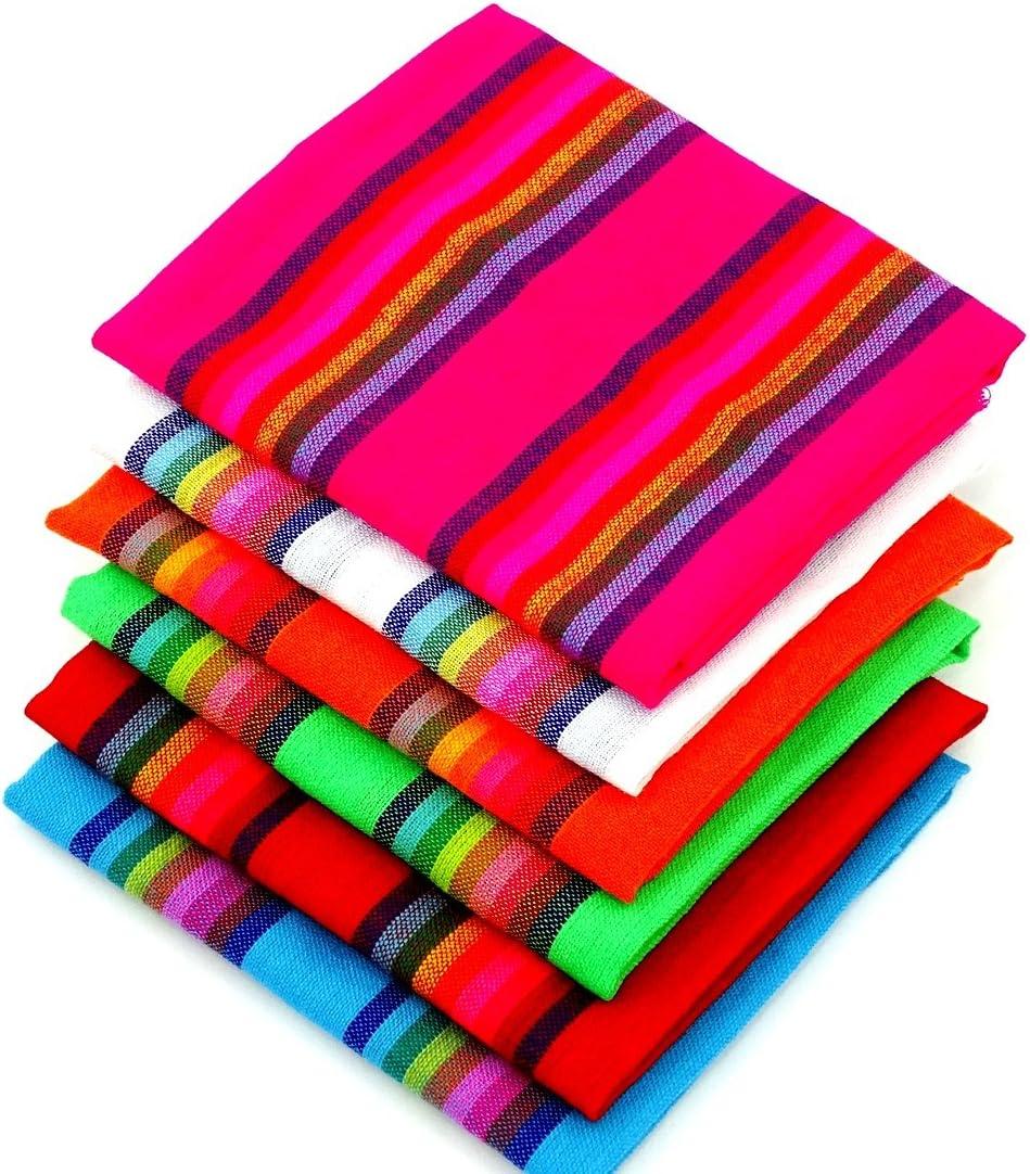 Mexican Fabric Cinco de Mayo Fiest Yards 6 Bundle Half ※ラッピング ※ 国内在庫
