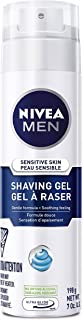 NIVEA MEN Sensitive Skin Shaving Gel, 198 g