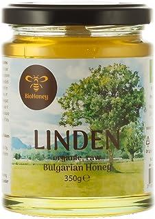 Bio Lindenhonig,hochqualitativer Honig aus Bulgarien, eigene Imkerei, EU-Bio-Zertifizierung 350 Gramm DE-ÖKO-006
