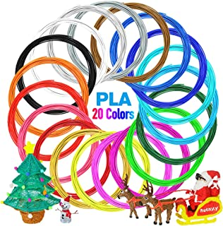 3D Printing Pen Filament 1.75mm High-Precision for 3D Printing Pen for Kids /& Adults Doodle Arts /& Crafts Making Buluri PLA 3D Pen Filament Refills 24 Colors