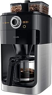 محضرة القهوة جرايند اند برو من فيليبس، HD7762/00، اسود