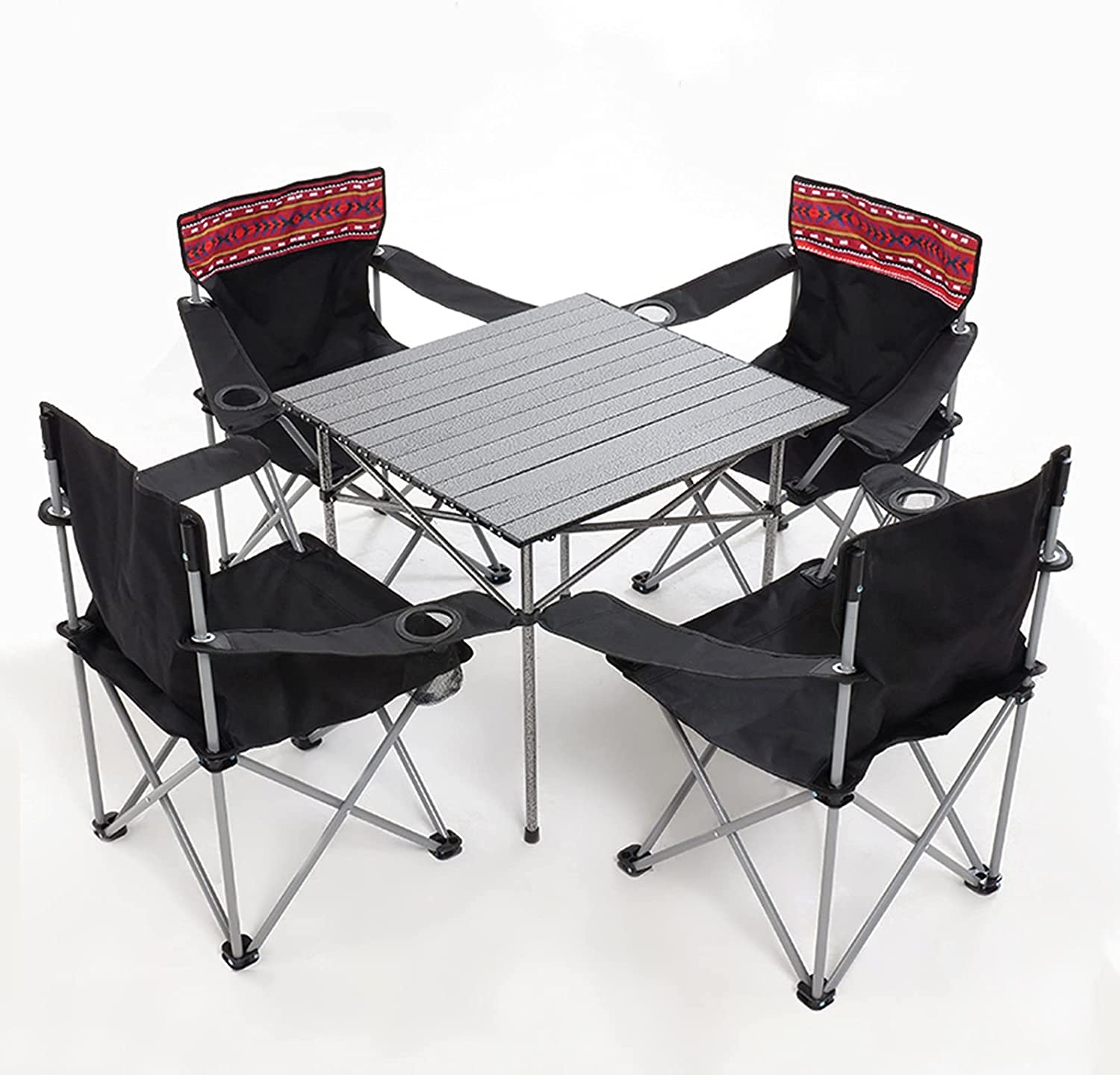 HOLPPO Portable Outdoor shopping Table 2021 new Camping Set Folding Ca