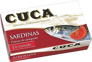 Cuca - Sardinas en tomate, 120 g