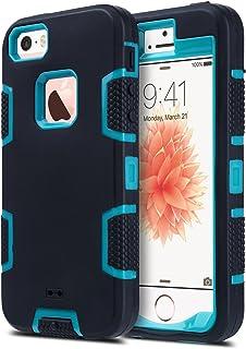 ULAK iPhone 5S Case, iPhone 5 Case,iPhone SE Case, Knox Armor Heavy Duty Shockproof Sport..