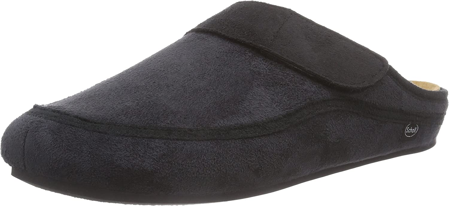 Scholl Las Condes Grey Black, Men's Mules