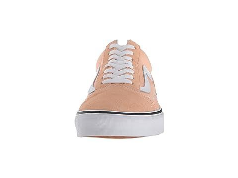 Old True Skool White Bleached Apricot Vans wqHYxdIgq