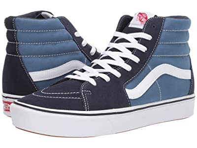 Vans ComfyCush SK8-Hi ((Classic) Navy/Navy) Athletic Shoes