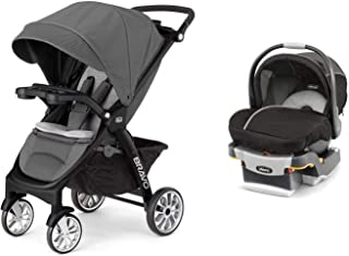 Chicco 3-in-1 Bravo LE Stroller + KeyFit 30 Magic Car Seat & Base Travel System
