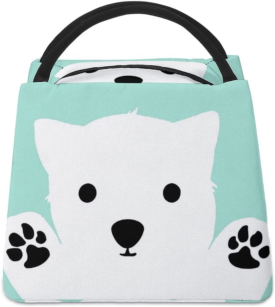 Hug Baby Polar Bear Insulated Lunch OFFicial Tote Box Bag Work For Many popular brands S Meal