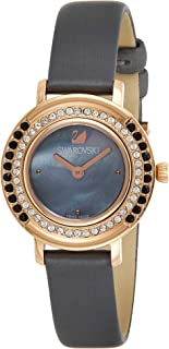 Swarovski Women's Black Leather Band Watch - 5243044