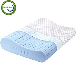 Milemont Memory Foam Pillow, Cervical Pillow, Orthopedic Contour Pillow Support for Back, Stomach, Side Sleepers, Bed Pill...