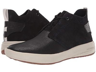 Merrell Gridway Mid Leather (Black) Men
